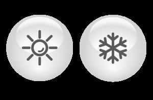 ikonca sonce snezinka