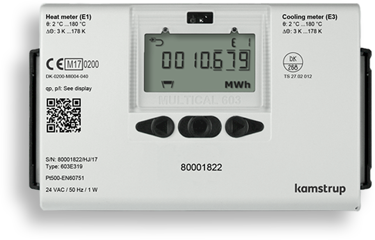ENERKON KAMSTRUP Toplotni števec multical 603
