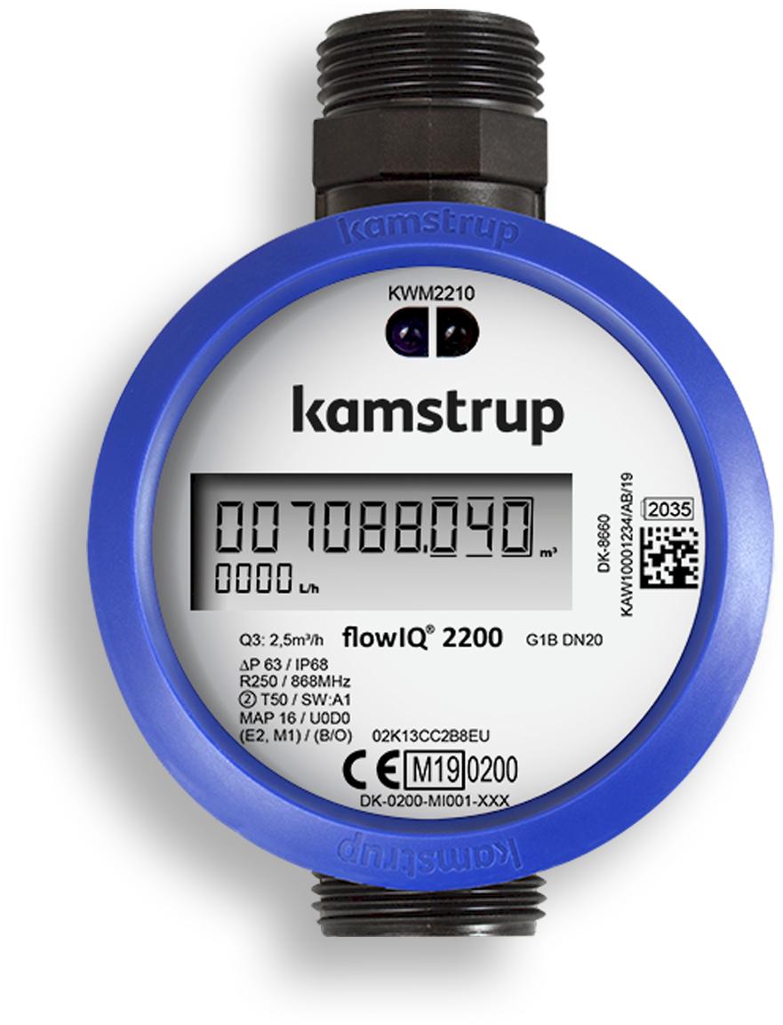 ENERKON KAMSTRUP vodomeri FLOWIQ 2200